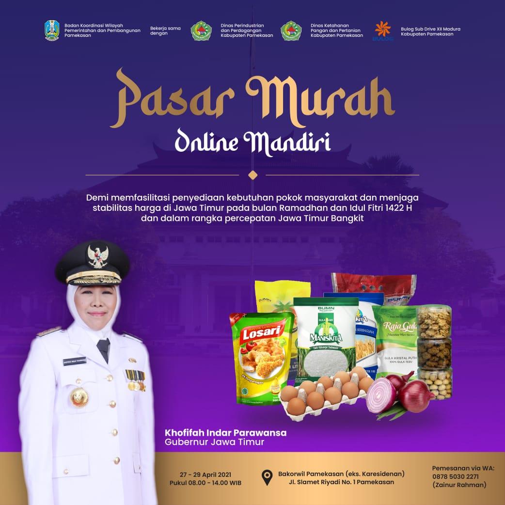 Pasar Murah Online Mandiri (PAMOR)