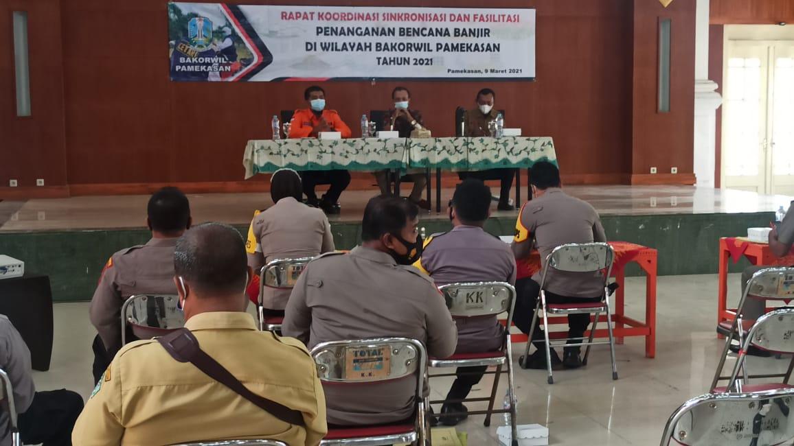 Rapat Koordinasi, Sinkronisasi Fasilitasi Penanganan Bencana Banjir
